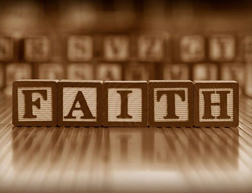 Walk By Faith?